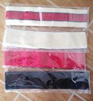 Nuevo diseñador de diadema elástica para mujeres y hombres Bandas de pelo a rayas verdes y rojas Pañuelo en la cabeza Headwraps Regalos