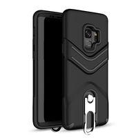 Kickstand Téléphone Cas avec Anneau Suspendu Hybride Armure Couverture Arrière pour Samsung J2 Premier J5 Premier J7 2016 J5008 Oppbag