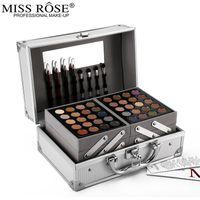 Mlle Rose Poudre de maquillage de Matte Shimmer Palette de fard à paupières Blockbuster Professional Make Up Kit surligneur Bronzer