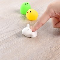 Funny Mini Squeeze Toys Soft Silicone Hand Squishy Animals C...