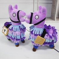 35CM or 20CM Fortnite plush dolls Stash Llama Figure Soft St...