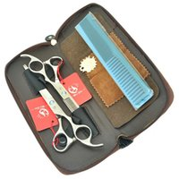 7.0 pulgadas Meisha JP440C tijeras de peluquería tijeras de corte grande profesional del salón del pelo adelgazamiento Tijeras Barberos herramientas HA0355