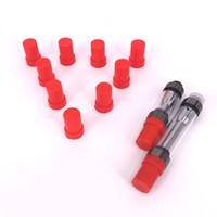 뜨거운 판매 실리콘 보호 커버 모자 foruwa amigo liberty V1 V5 V9 카트 리지 라운드 마우스 피스 두꺼운 오일 Vape Pen 분무기