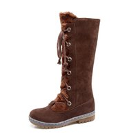 Large size boots long shoes sleeve cross straps high boots f...