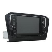 폭스 바겐 파사트 2015 8 인치 2 기가 바이트 RAM Andriod 6.0 옥타 코어 GPS, 스티어링 휠 제어, 블루투스, 라디오 자동차 DVD 플레이어