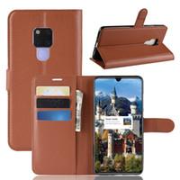 Litchi Muster Flip Magnetic PU Leder Flip Wallet Fall für Huawei Mate 20 Pro X Y9 2019 Ehre 8c 8x Max Litschi Kornabdeckung
