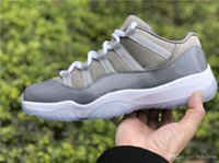 2019 Best Quality 11 Low Cool Grey 11S Basketball Men Shoes ...