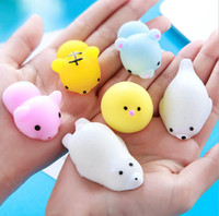 Squishy Slow Rising Jumbo Toy Bun Toys Animals Cute Kawaii Squeeze Cartoon Toy Mini Squishies Cat Squishiy Мода Редкие подарки для животных Новые