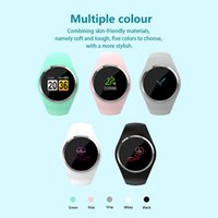 Bracelet Q1 Smart Tracker Fitness Tracker Bracelet Bracelets intelligents Regarder la pression artérielle femmes / fille pour IOS Android