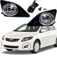 Auto Nebelscheinwerfer für Toyota COROLLA (US Typ) / ALTIS 2002-2009 Halogenlampe H11-12V 55W Nebelscheinwerfer Stoßstangen Lampen Kit