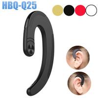 2018 Alta Qualidade HBQ-Q25 Sem Fio Fones De Ouvido Sem Fio Bluetooth V4.2 Fones De Ouvido À Prova D 'Água Bluetooth Fones de Ouvido Esportes Fone De Ouvido Com Microfone