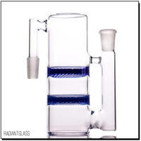 Double honeycombs ash catcher percolator 14mm or 18mm use fo...