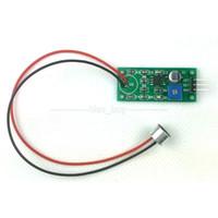 Freeshipping módulo de preamplificador de pastillas de módulo de amplificador de voz de micrófono de placa de adquisición de voz