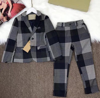 3 Piece Boys Set 2018 newest spring autumn suit Clothes latt...