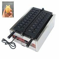 Yapışmaz Sevimli Kumamon Waffle Makinesi Özelleştirilebilir Kalıpları Totoro Şekil Kek Maker Ticari Kullanım 3000 W 220 V 110 V CE Yepyeni