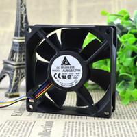 Для Delta DELTA 80258 см 0.41A ШИМ Автоматический Контроль Скорости ЦП Вентилятор Радиатора AUB0812VH