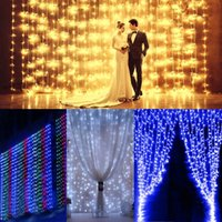 New 3mx3m 300LED Christmas Xmas String Fairy Wedding Decorat...