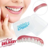 Perfect Smile Comfort Fit Flex False Dentures Teeth Top Cosm...