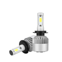 H7 옥수수 속 LED 자동차 헤드 라이트 벌브 키트 72W 8000lm 자동 프론트 라이트 H7 안개 전구 6500K 12V 24V 자동차 전조등 Led