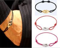 Frankreich Paris Schmuck 925 Sterling Silber Handschellen Dinh Van Armband Für Frauen Mit Seil 925 Silber Anhänger Armband Menottes