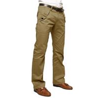 YJSFG EVI Marka Moda Erkekler Suit Pantolon Uzun Resmi Pantolon Iş Ince Düz Takım Elbise Pantolon Erkek Çalışma Akıllı Rahat