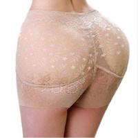 Marca Shaper Sexy Boyshort Bragas Mujer Fake Ass Underwear Push Up Bragas acolchadas Buttock Shaper Mujeres Butt Lifter Hip Enhancer