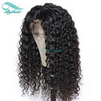 Bythair 13x6 Deep Part Lace Front Human Hair Wig Deep Curly ...
