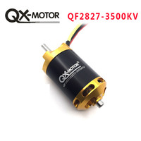 QX-мотор новый Qf2827 3500kv бесщеточный мотор для RC гоночных лодок модель DIY лодки мотор частей