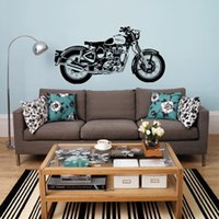 Royal Enfield Motorbike English Wall Stickers Decor Bedroom ...