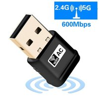600mbps USB Wifi Adapter With Dual Band 2. 4+ 5. 8Ghz 802. 11AC ...