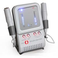 2 em 1 máquina facial galvânica RF para rejuvenescimento de pele Anti-rugas cara levantando equipamentos de beleza casa use equipamento massageador de pele firmeza