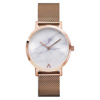 Rose Gold Ultra Thin Bracelet Women' s Fashion Watch 201...