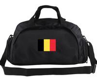 Бельгия вещевой мешок желтый красный черный флаг тотализатор страна баннер рюкзак 2 использовать способ осуществлять багаж Спорт плечо вещевой эмблема слинг пакет