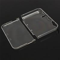 Przezroczysty Plastikowy Kryształowy Kryształ Ochronna Hard Shell Case Pokrywa dla Nowych 3DS XL LL DHL FedEx EMS Darmowa Wysyłka