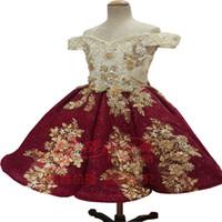 Venda por atacado: Frete grátis No Risk Shopping Moda novo estilo vestido de baile delicado Manual Organza Flower Girl Dress Girl Pageant Vestidos