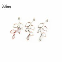 BoYuTe (50 Pieces Lot) 19*41MM 2 Colors Zinc Alloy Materials...