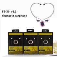 BT- 30 neckband soft TPU cord magnetic lock magic wireless bl...