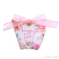Sacchetti di carta Kraft di nozze Borsa di caramelle di cartone animato Flamingo Confezione di gocce d'acqua Confezione regalo Decorazioni da tavola Nuovo 0 6yr ii
