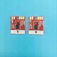 El más nuevo estable SB53 chips para Mimaki JV300 CJV150 CJV300-160 impresora solvente del trazador SB53 chips permanentes C M Y K