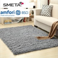 Non- slip Carpet Fluffy Rugs Anti- Skid Shaggy Area Rug Dining...