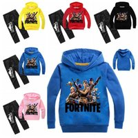 5 Colors Baby Fortnite Printed Outfits Autumn Children Long ...