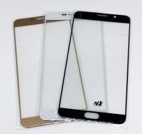 Neuf de haute qualité en verre optique pour Samsung Galaxy Note 5 N9200 N920 N920F avant extérieur à écran tactile panneau blanc or noir