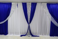 3*6m (10ft*20ft) Backdrops with Sequins Swag Wedding Party S...