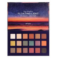 New star sky floating light eye shadow net red sunset 18 col...