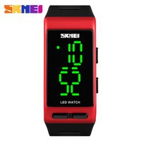 DHL SKMEI Sport Digital Women Watch Fashion Casual Waterproo...