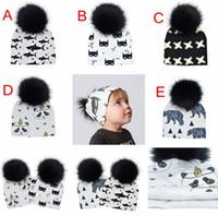 5 цветов модули новорожденный пом Шапочка шапки шляпы детские toque пом шапочка из искусственного меха дети шляпа дети панда шляпы