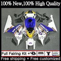 Iniezione OEM per HONDA Rothmans Blue CBR1000 RR CBR 1000RR 06 07 Kit 52PG CBR 1000 RR 2006 2007 CBR1000RR 06 07 100% Fit Carenatura Carena