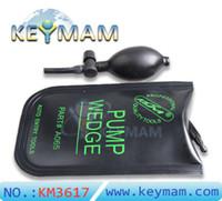 Haute qualité KLOM petit pompe à air wedge sac gonflable déverrouiller porte d'entrée de voiture outils d'entrée (Épaissir tissu importé)