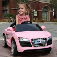 Dual drive children electric car, four wheels and single seat...