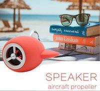 2018 نموذج جديد الطائرات الإبداعية بلوتوث المتكلم الكرتون لطيف المتكلم مصغرة مضخم صوت صغير